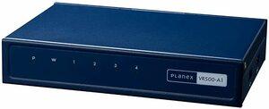 PLANEX ギガビット 有線タイプ VPNルーター VR500-A1 IPSec・L2TP・PPTP対応