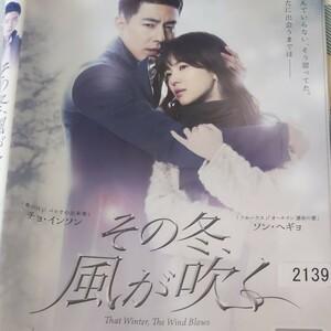 韓国ドラマその冬、風が吹くDVD全話レンタル落ち
