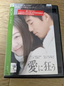 韓国ドラマDVDユン・ゲサン愛に狂う全8巻レンタル落ち中古