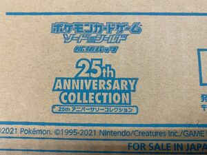 新品 未開封カートン ポケモンカードゲーム 25th anniversary collection 20BOX プロモパック80枚付き