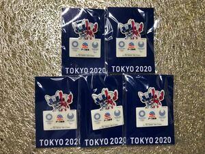 東京オリンピック ピンバッジ 5個