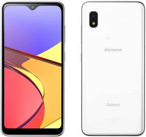 新品_docomo Galaxy A21 SC-42A ホワイト White SIMフリー スマートフォン本体