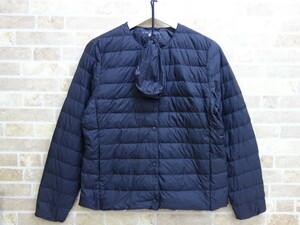●10042K UNIQLO ユニクロ ウルトラライトダウン コンパクトジャケット 2WAYタイプ 黒 Lサイズ
