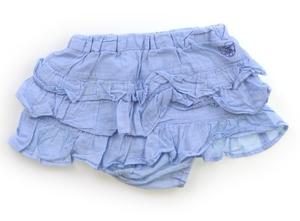 べべ BeBe スカート 80 女の子 ブルー 子供服 ベビー服 キッズ(825562)
