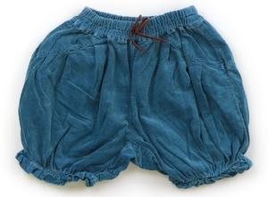 スワップミートマーケット SWAP MEET MARKET ハーフパンツ 110 女の子 ブルー 子供服 ベビー服 キッズ(857674)