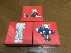 新品 限定 KAWS TOKYO FIRST パズル 3点セット100ピース カウズ メディコムトイ ベアブリック