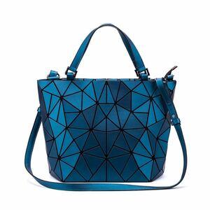 うレディースバッグ ショルダーバッグ ハンドバッグ トートバッグ 大容量 多機能 肩掛け 2way ブルー