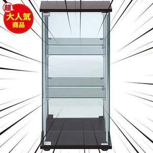 限定価格! ブラウン 97336 背面ミラー付き 高さ86cm 3段 フィギュアケース コレクションケース 不二貿易 ブラHLN0