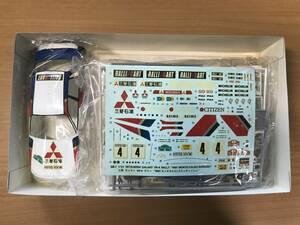 ハセガワ 三菱 ギャラン VR-4 ラリー 1991 スウェディッシュラリー 1/24 中袋未開封 タバコ臭有り 箱違い