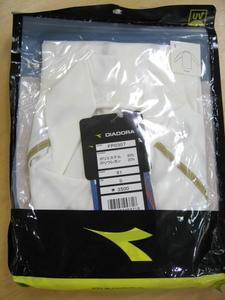 DIADORA/ディアドラ/メンズ/ハイネックインナーシャツ/S寸(ホワイト)【FP0307】