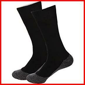 Rose 35度キープ ソックス 男女兼用 靴下35度下熱反射 足の冷えない不思議なくつ下 ハイソックス 厚手 足冷え専用 フリーサイズ 黒色