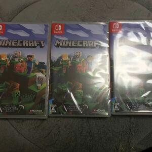 マインクラフト 3本セット  Nintendo Switch