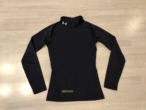 アンダーアーマー サッカー インナー アンダーシャツ 黒 120cm相当