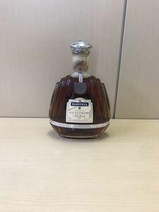※20歳未満の者に対する酒類の販売はしません 【T1020】MARTELL マーテル XO SUPREME スプリーム COGNAC コニャック ブランデー