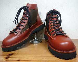【試し履きのみ/送料無料】 USA製 Danner/ダナー 30475 白タグ ライト セダーブラウン GORE-TEX ブーツ Ladys US7.5M 24.5cm相応/30464 x