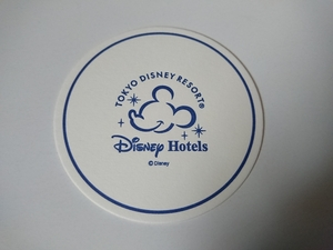 東京ディズニーリゾート 非売品 コースター ミッキー ディズニーランドホテル アンバサダーホテル ミラコスタ DISNEY