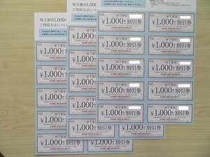 ハーバー研究所 株主優待割引券 3万円分