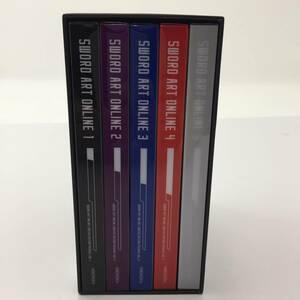 ソードアート・オンライン (完全生産限定版) 1~5巻セット [Blu-ray-BOX]【中古品】