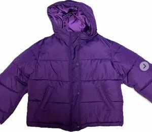 ダウンジャケット 紫