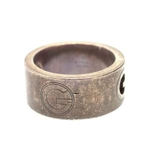 中古◆GUCCI グッチ SV925 指輪 リング 7/6.5号 シルバー レディース