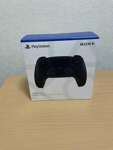 新品☆PS5 Play Station DualSense ワイヤレスコントローラー ミッドナイト ブラック (CFI-ZCT1J01)