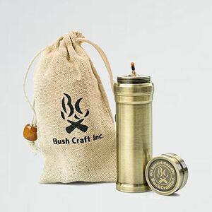 新品 好評 Craft Bush L-LV 真鍮色 90mm ブッシュクラフト オイルインサ-トキャンドル90 2.0