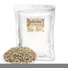 新品★ローストひまわりの種 1kg(1gあたり0.99円) 無塩 無添加 便利なアルミチャック付き袋 食物油不使用KRXB