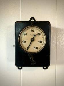 1940~50年代 ドイツ製 VINTAGE TIMER インダストリアル 工業系 Wall timer キッチンタイマー
