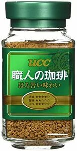 UCC 職人の珈琲 ほろ苦い味わい 瓶 90g