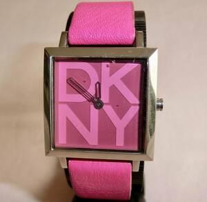 DKNY ダナキャラン ニューヨーク 腕時計/ QUARTZ クォーツ レディース 3気圧防水 NY-3421 ☆ [ 電池交換品 ]