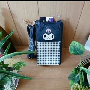 クロミ「財布」サンリオ スマホポシェット コインケース 財布 ポーチ かわいい