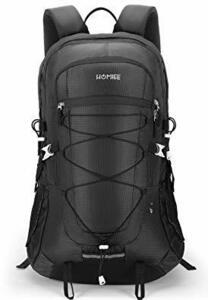 ブラック HOMIEE 登山 リュック バックパック ザック リュックサック 45L 大容量 アウトドア バッグ 多機能 花見