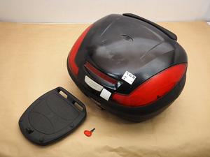 ★【ジャンク品】GIVI E470 モノロックケース トップケース リアボックス (210903BD0081)