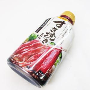 同梱可能 すき焼きのたれ 520g 北海道産真昆布使用 日本食研/3726x2本セット/卸