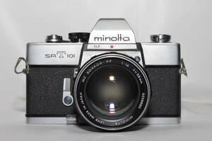 ミノルタ MINOLTA SRT101 MC ROKKOR-PF 58mm F1.4 #ak1235