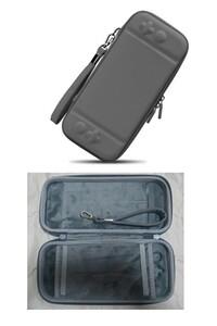 新品 Nintendo Switch対応 全面保護 耐衝撃 ニンテンドー スイッチケース 収納バッグ カバー グレー
