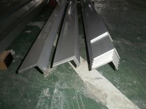 アルミ不等辺アングル(R無し)生地材 各形状の(1000~100mm)各定寸長での販売A41