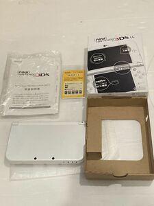 ★動作確認済み Newニンテンドー3DS LL パールホワイト 本体 3DSLL 送料無料★