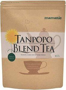 たんぽぽ茶 母乳 国産 食物繊維たっぷりのごぼうと生姜 ノンカフェイン 無添加 30包