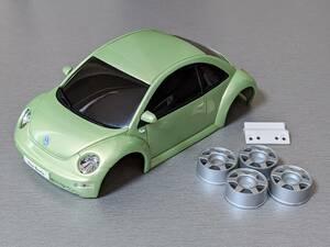 京商 ミニッツ ASC VOLKSWAGEN New Beetle メタリックグリーン MZC14M VW ニュービートル kyosho mini-z