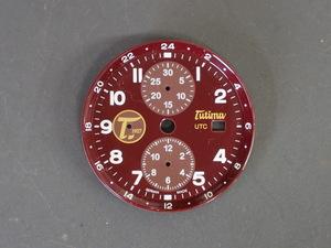 チュチマ グランドクラシック クロノグラフ ハバナ TUTIMA Grand Classic Chronograph HAVANA Ref:781-01 文字盤 ダイヤル 管理No.6981