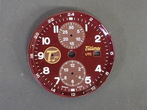 チュチマ グランドクラシック クロノグラフ ハバナ TUTIMA Grand Classic Chronograph HAVANA Ref:781-01 文字盤 ダイヤル 管理No.6982