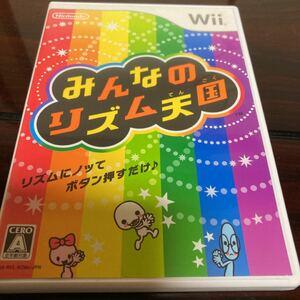 【Wii】 みんなのリズム天国 美品