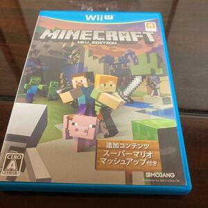 【Wii U】 MINECRAFT: Wii U EDITION 美品