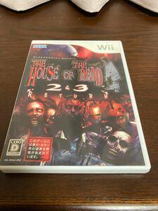 【Wii】 ザ ハウス オブ ザ デッド 2&3 リターン (通常版)