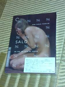 DVD2枚組 ソドムの市 パゾリーニ クライテリオン盤 新品未開封品 Salo Or The 120 Days Of Sodom: Criterion Collection