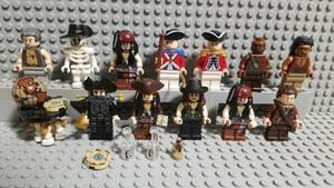 レゴ パイレーツ・オブ・カリビアン ジャック・スパロウ アンジェリカ 黒ひげ バルボッサ ミニフィグ 大量出品中 同梱可 正規品 LEGO