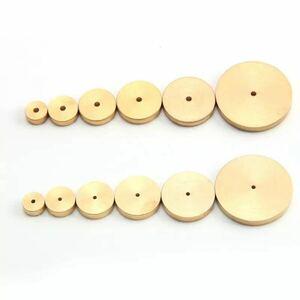 レザークラフト 型取りゲージ 工具 クラフトパンチ パンチ 6枚セット