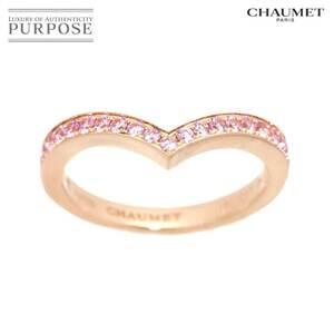 ショーメ CHAUMET ジョゼフィーヌ #54 リング ピンクサファイヤ K18 PG ピンクゴールド 750 指輪 JOSEPHINE Ring 90138007