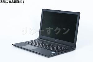 【中古ノートPC】NEC VersaPro タイプVF (i7-7500U/8GB/SSD256GB/15.6HD/W10P) PC-VKV27FBGS363【クリーニング・動作確認済】